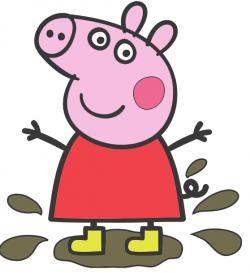 Peppa Pig Vectorizado Clipart Best Peppa Pig Birthday Party Peppa Pig Party Pig Party