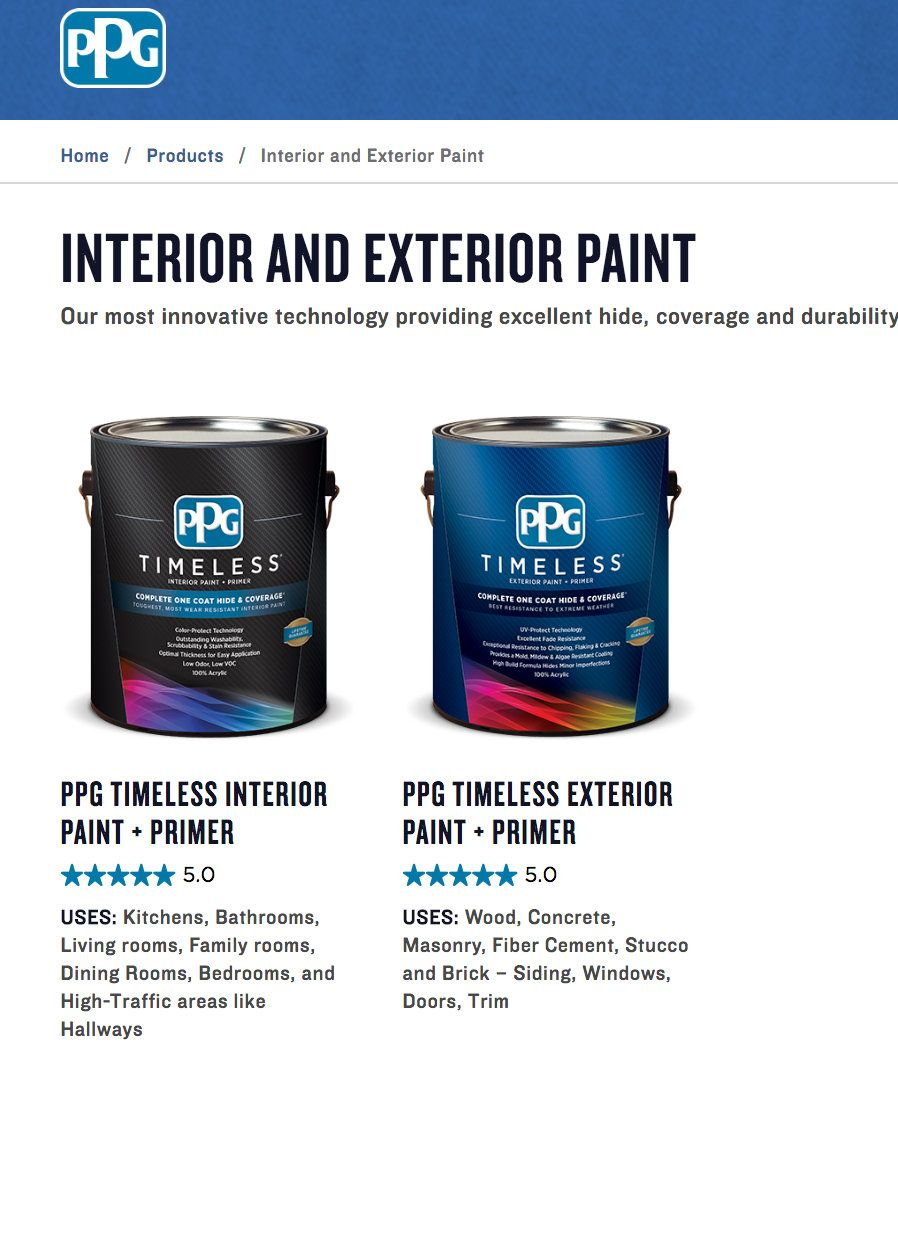 There's a New Amazing Paint in Town: PPG Timeless | Family