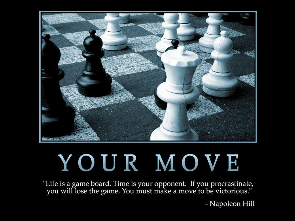 It's your move...