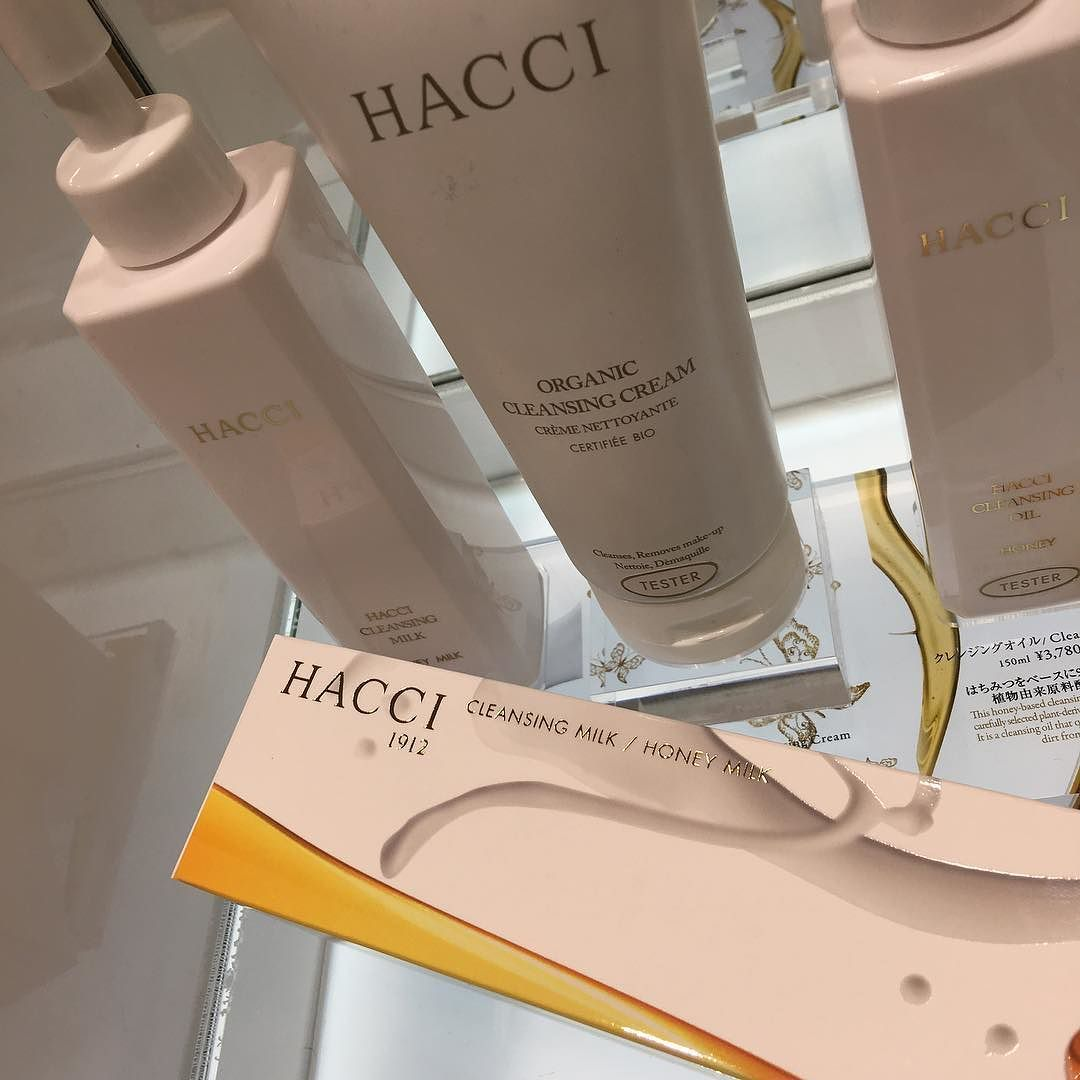 #Hacci cleansing milk 4752 yen