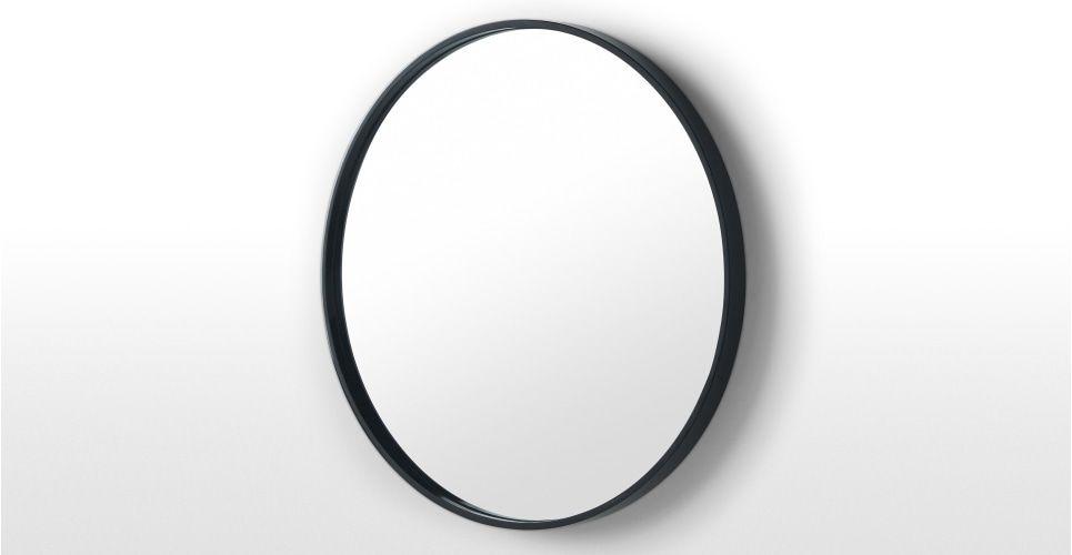 Ronde Zwarte Spiegel : Essentials bex ronde spiegel 55 cm zwart bedrooms interiors and