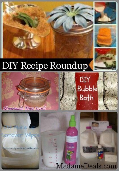 Easy DIY Beauty Recipes Roundup #beauty