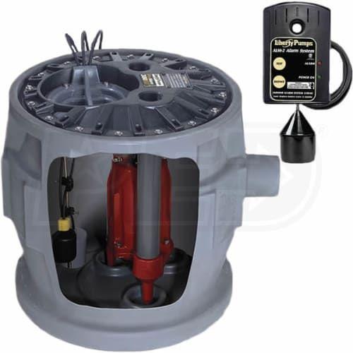 Liberty Pumps P382xprg101 A2 1 Hp Provorea 380 Grinder Pump System 24 Inchx24 Inch 16 Bolt Cover W Alarm Sewage Ejector Pump Pumps Sewage Pump