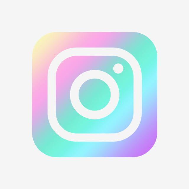 Pastel Ombre Instagram Icon Logo, Pink, Purple, Social