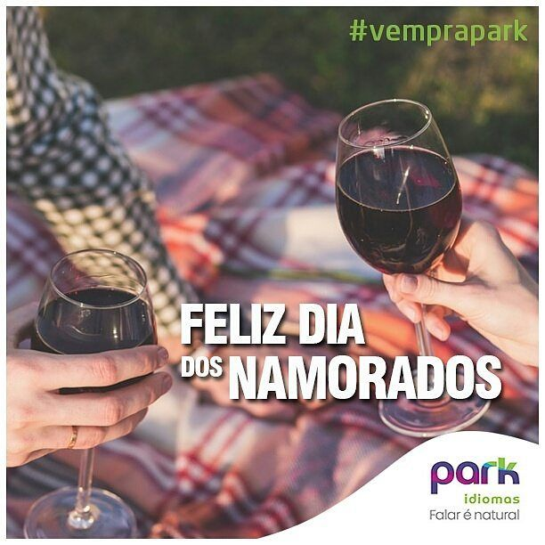 "In Brazil, Valentine's Day is known as ""Dia dos Namorados"" and is celebrated on June 12.Feliz dia dos Namorados!  #ParkIdiomas #ParkIdiomasIndependencia #ParkIdiomasSaldanha #diadosnamorados #12DeJulho #felizdiadosnamorados #amor #love #valentinesday #brazilianvalentinesday #amormaior #tododiaédiadeamar #eternonamorado #penseporque #idiomas #escoladeingles #aulasdeingles #ingles #english #escuela #aulasdeespanhol #espanhol #fbenevides #parkidiomaspiracicaba #parkidiomaspira #Piracicaba"