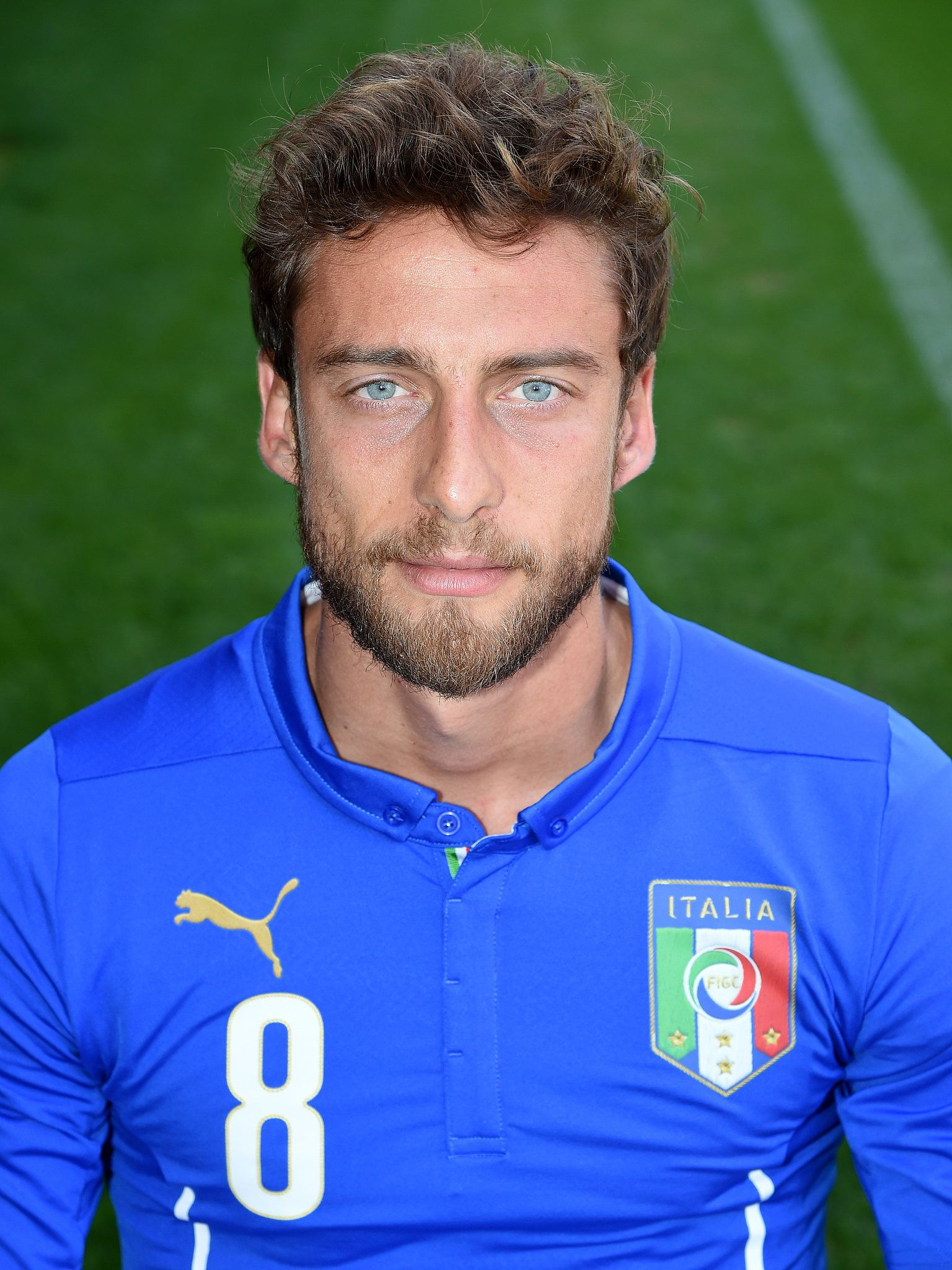 Claudio Marchisio Italy Bearded Men Hot Soccer Players Haircuts Claudio Marchisio