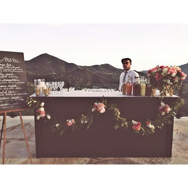 Outdoor Wedding Bar Ideas: How Much (and What Kind!) Of Liquor You Need For Your