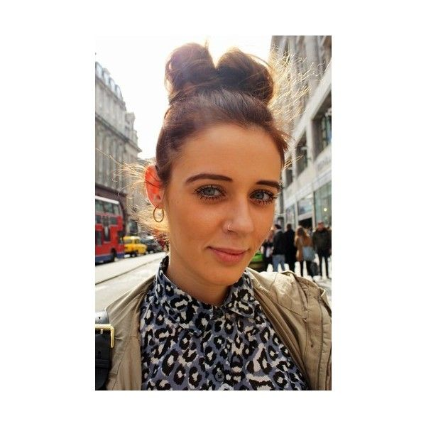 Street Style Hairstyles ❤ liked on Polyvore featuring hair
