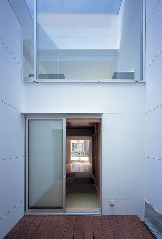 Casa minimalista en jap n de nrm architects office for Casa minimalista japon