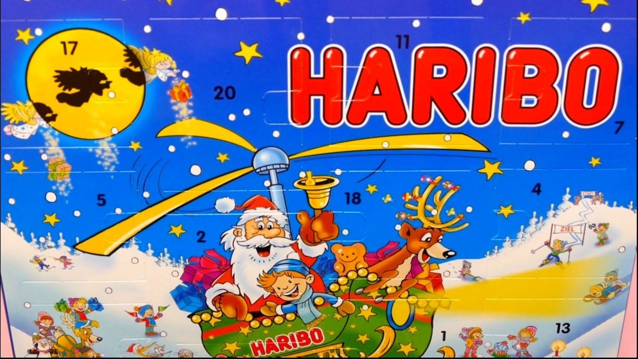 Haribo Advent Calendar With Candy 2017 Edition Candy Food