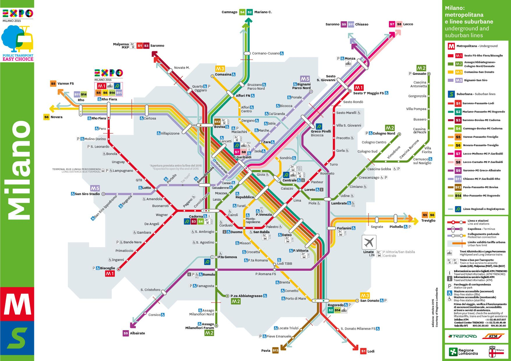 Milan transport network map rseau graphique Pinterest Milan