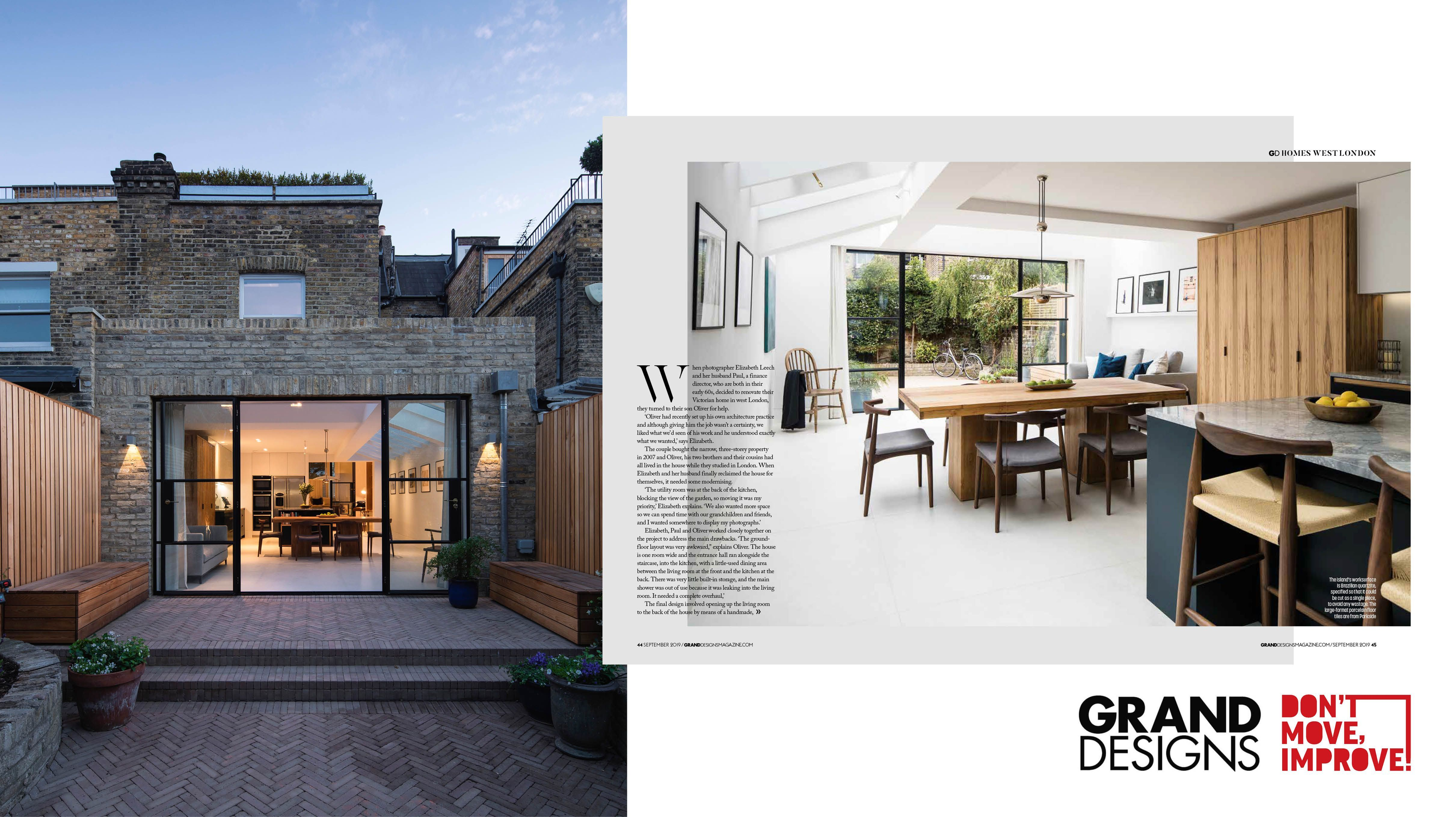 Find your ideal home design pro on designfor-me.com - get matched and see who's interested in your home project. Click image to see more inspiration from our design pros Design by Oliver, architect from Wandsworth, London #architecture #homedesign #modernhomes #homeinspiration #extensions #extensiondesign #extensioninspiration #extensionideas #houseextension #slidingdoors #skylights #rooflights