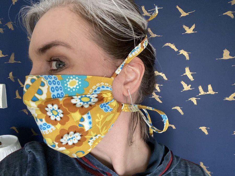 Photo of Adjustable side face mask – Bethanne Nemesh