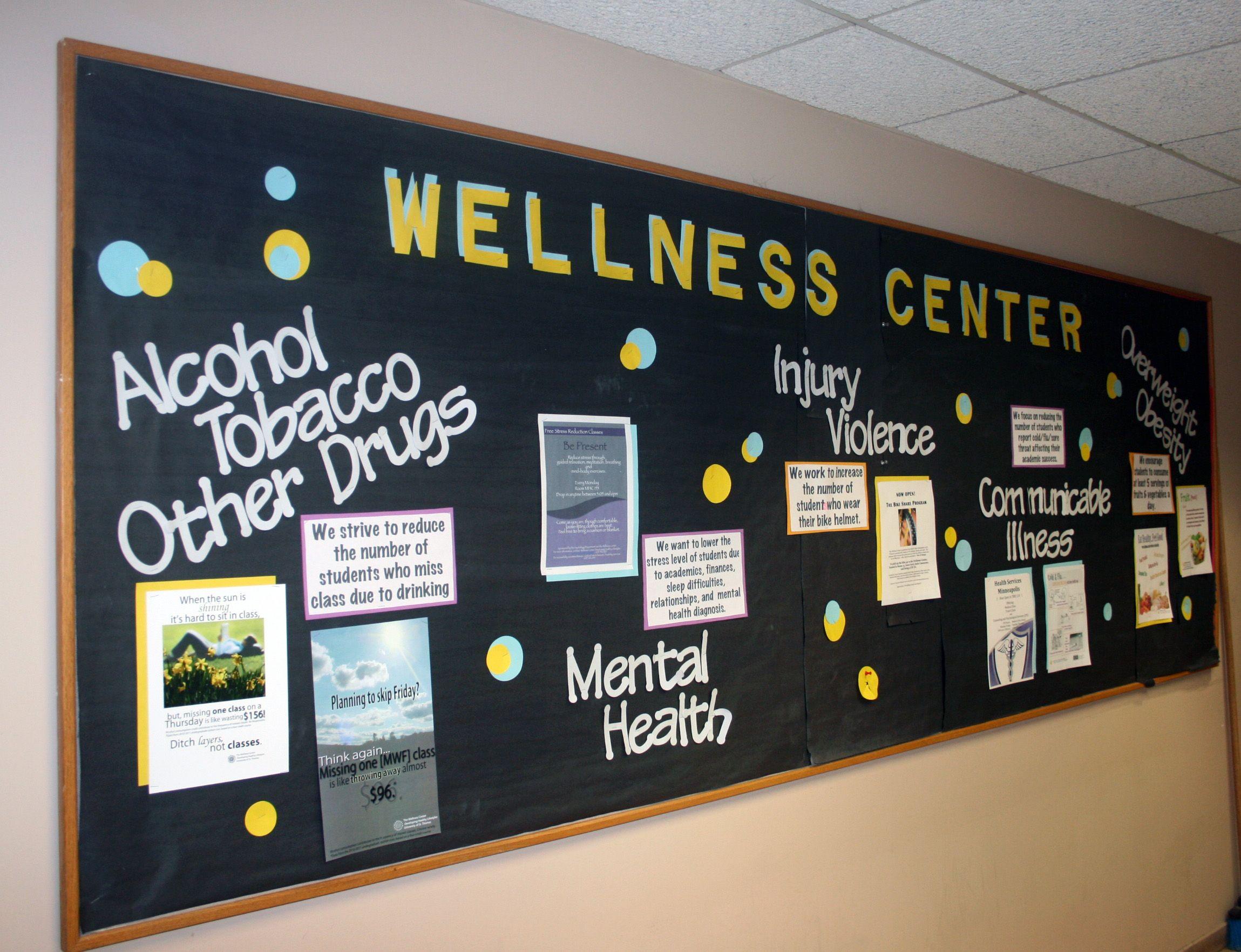 Bacheche Per Ufficio : Wellness center creating councils to improve student health