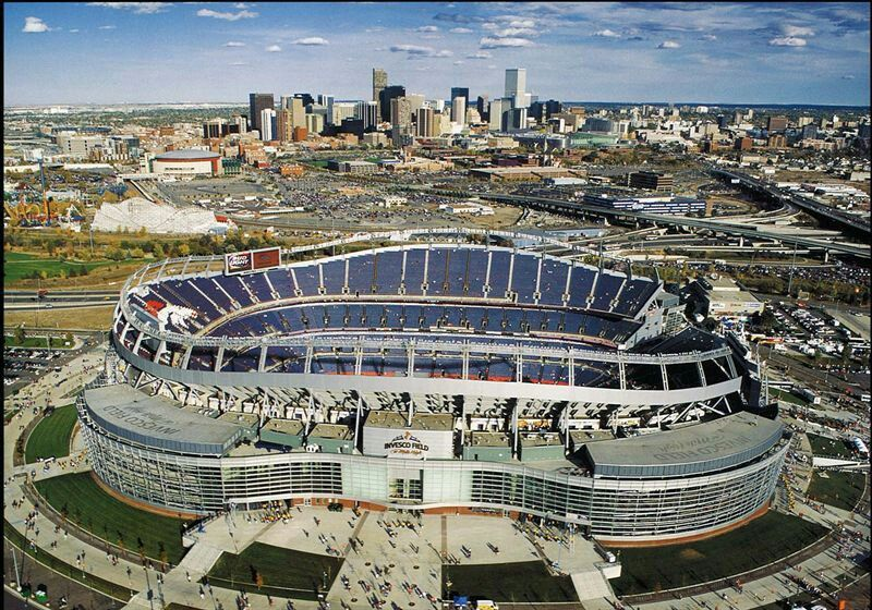 Sports Authority Field at Mile High. Denver broncos