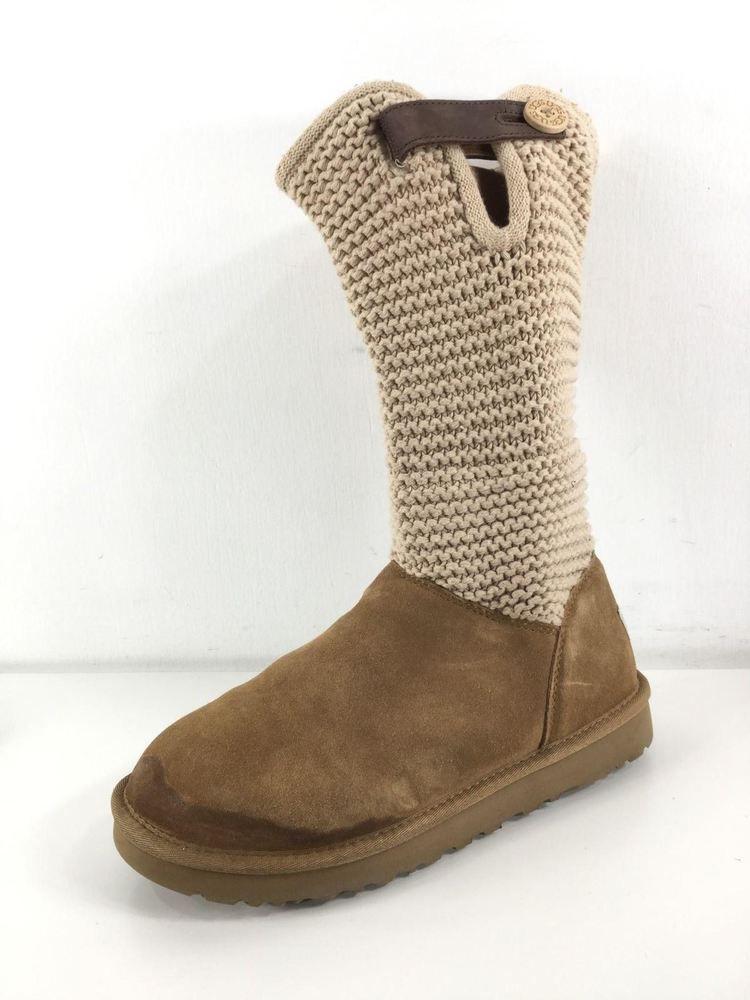7cd47b34004 Y15 UGG AUSTRALIA CHESTNUT LEATHER BOOTS WOMEN SIZE 10 #fashion ...