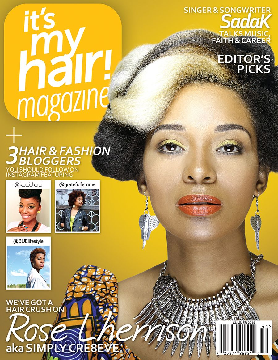 Summer 2014 Mini Mag Hair magazine, My hair, Hair styles