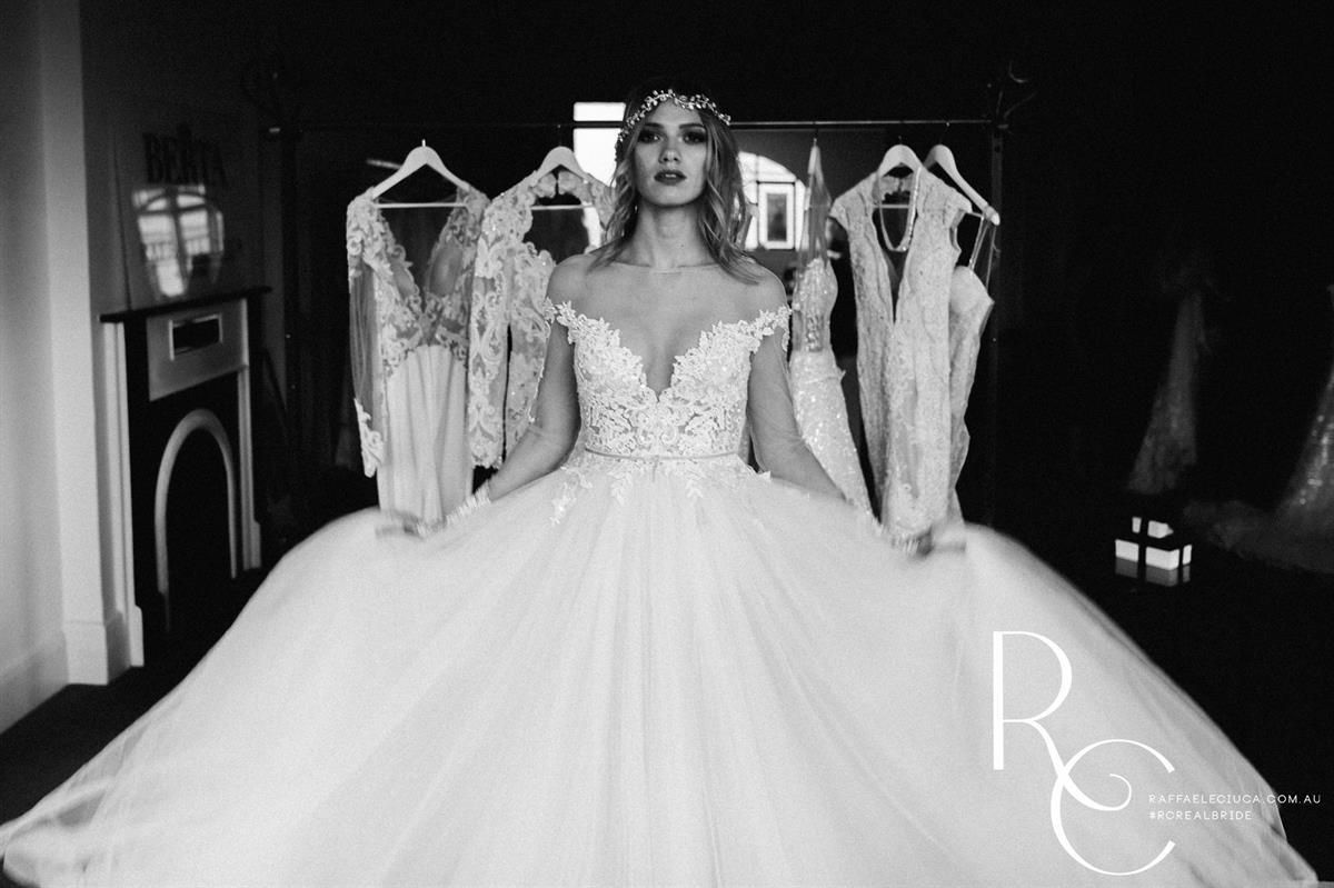 Wedding dress trunk show  From the Raffaele Ciuca x Berta Bridal trunk show photoshoot in