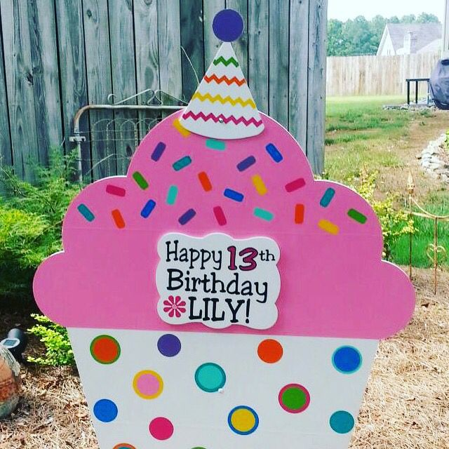 13th Birthday Yard SignSpecial Deliveries of Cleveland