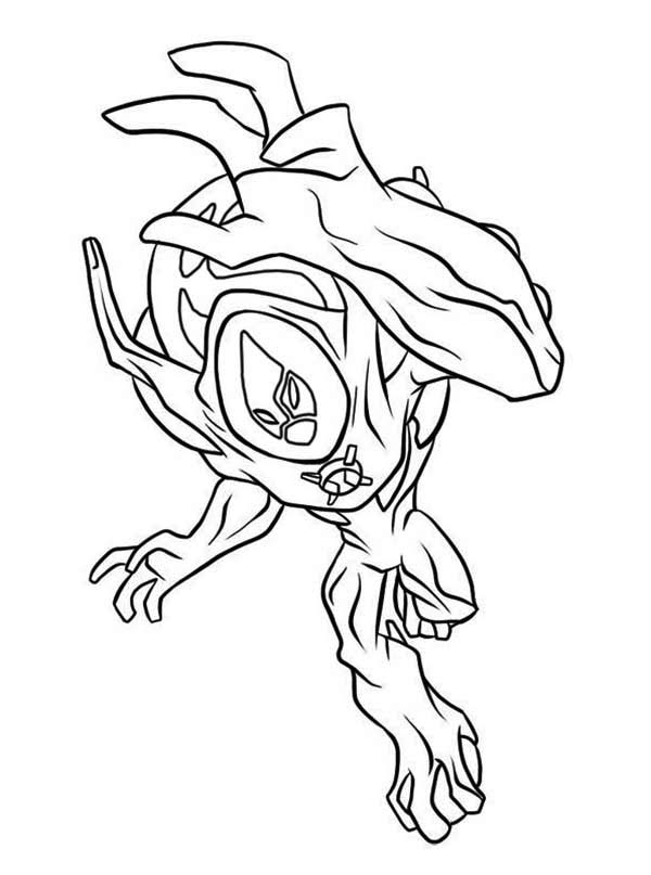 Ultimate Swampfire From Ben 10 Ultimate Alien Coloring Page Download Print Online Coloring Page Cartoon Coloring Pages Coloring Pages Online Coloring Pages