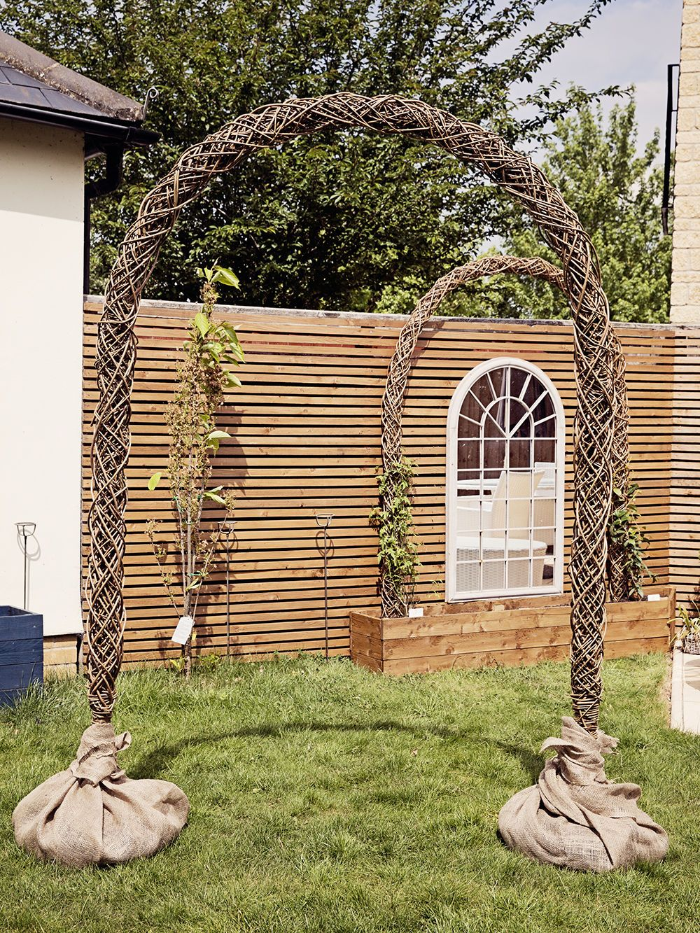 Indoor Outdoor Rustic Natural Willow Branch Wedding Arch Alter Flowers Arches Uk Ebay