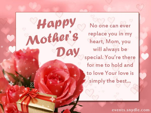 Top 20 Mothers Day Cards and Messages Happy mothers day
