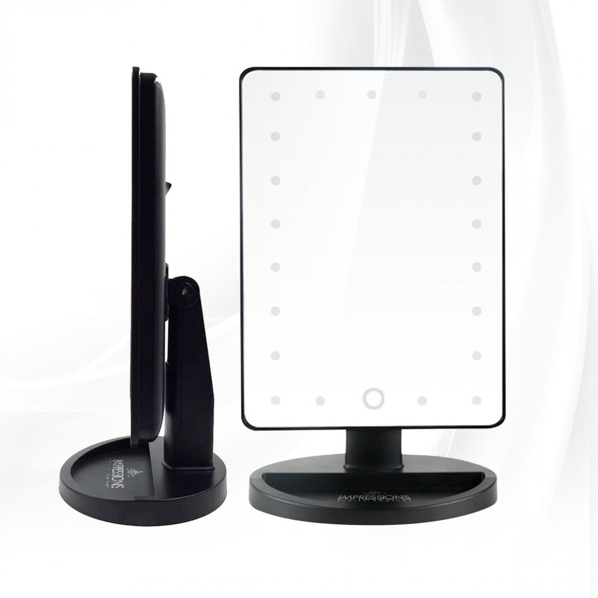 Impressions Vanity Touch Led Mini Vanity Mirror Must