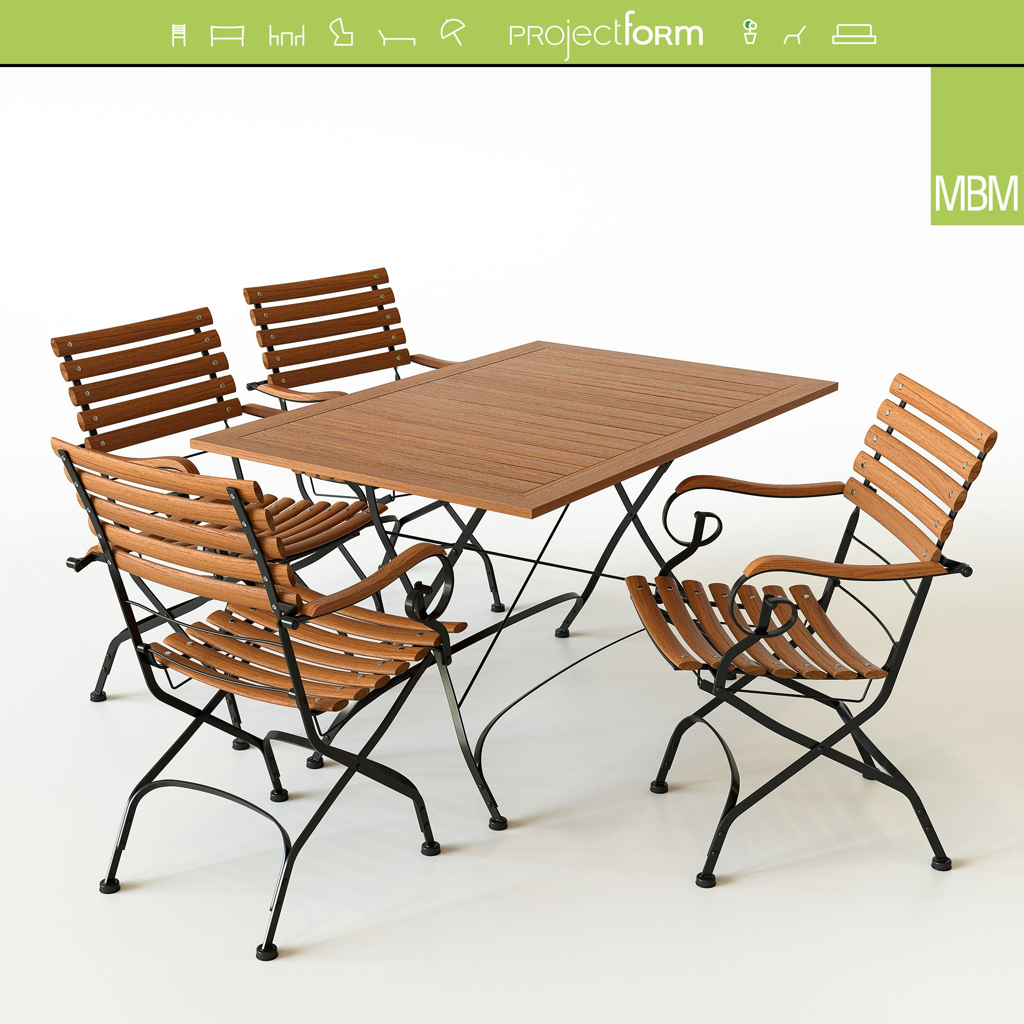 Brazil Table Chair By Mbm Available Www 3dsky Org Table And