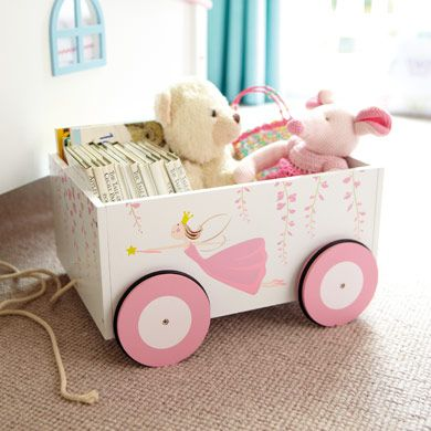 Pull-Along Book Cart