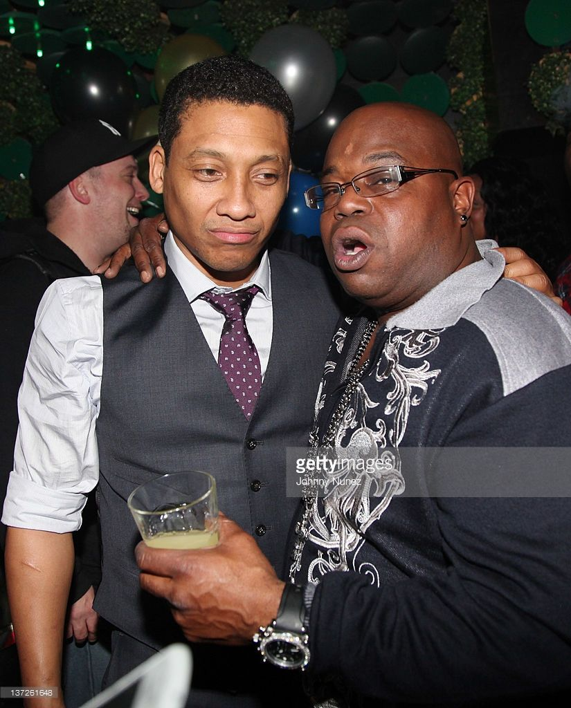 Original castmembers Khalil Kain and Jermaine Hopkins ...
