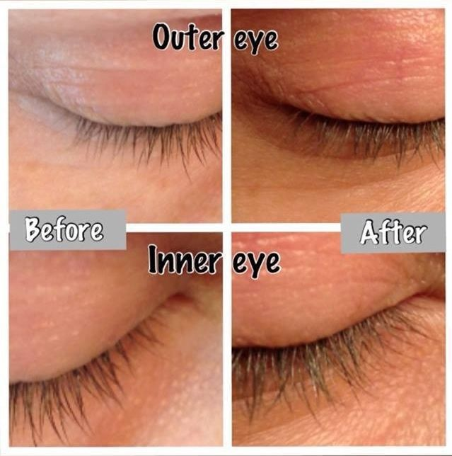 It Works Hair Skin Nails Great results for this lady on her lashes ...