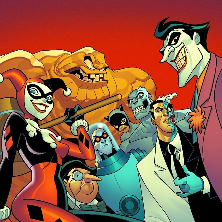 Image May Contain 2 People Gotham Character Design Batman The Animated Series
