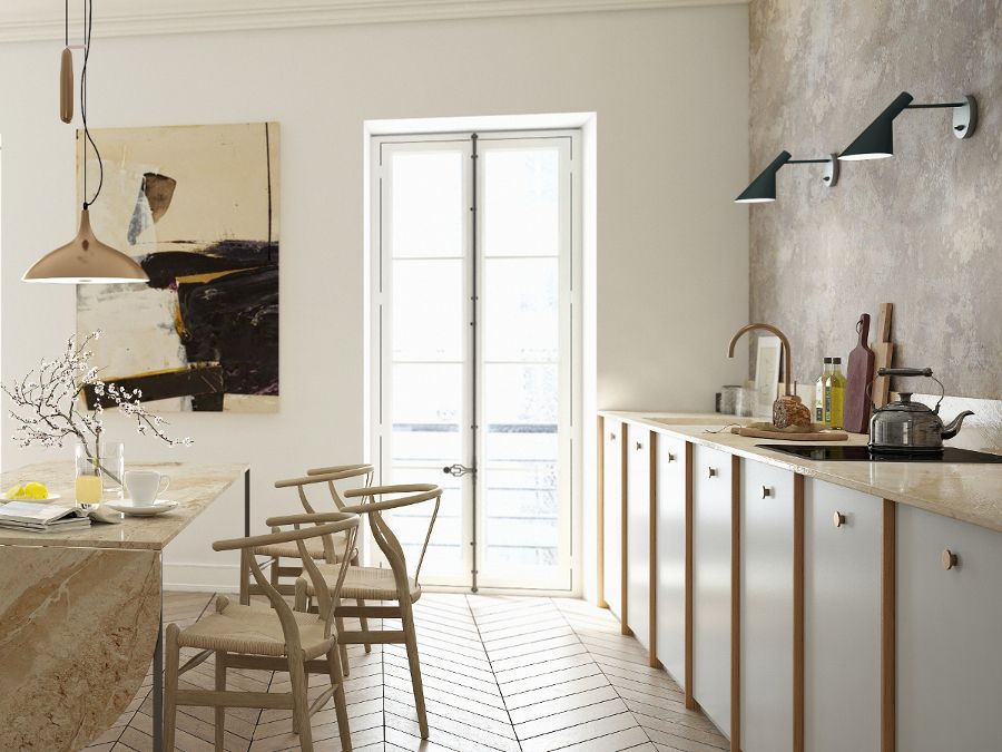 Kitchens neednt be laboratories. a.s.helsingö kitchen with ikea