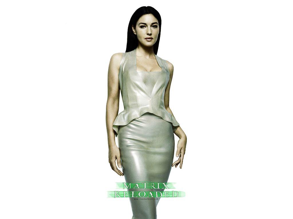 Monica Bellucci As Persephone In The Matrix: Reloaded