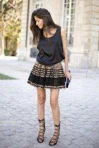 Top with skirt