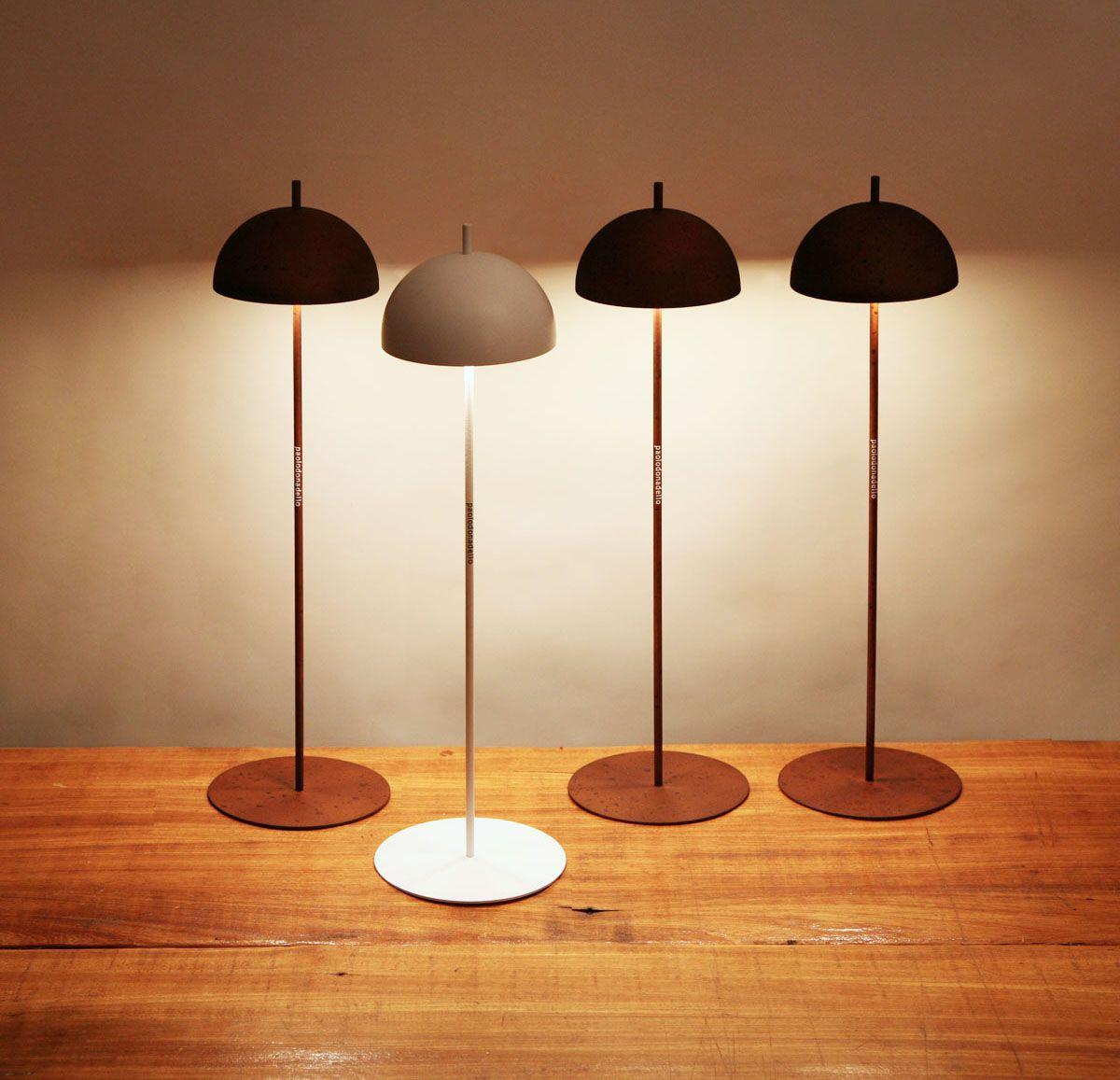 ombelìn lampada a batteria ricaricabile o con cavo