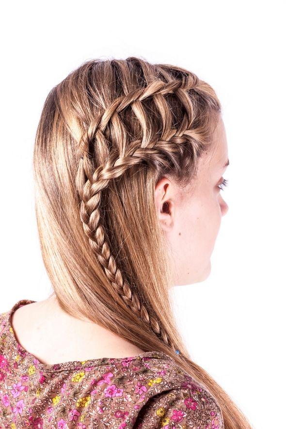 trenzas para cabello largo buscar con google