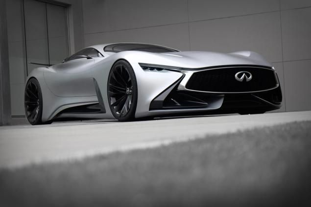 Infiniti Vision Gran Turismo Concept Transforms From Video Game To