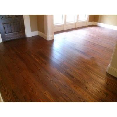 BLC Hardwood Flooring Antiqued Wire Brushed Sierra Pine 3/4 In. X 5