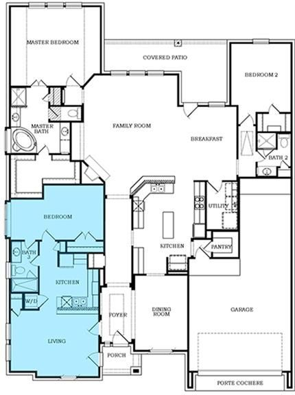 The Conestoga Next Gen Floor Plan 2 757 Sq Ft 5 Bedrooms And 3 Bathrooms Dreamhome Multigenerational House Plans Family House Plans New House Plans