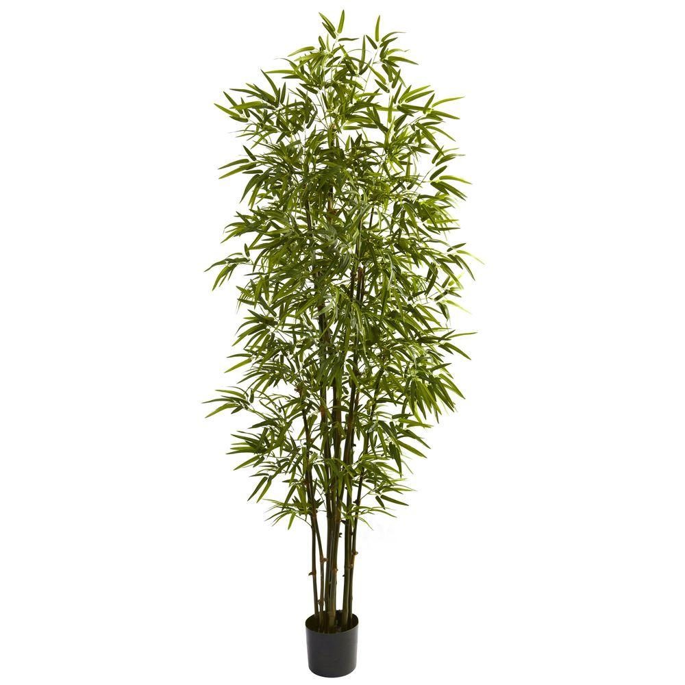 7 Ft Green Bamboo Tree Bamboo Tree Potted Trees Artificial Tree