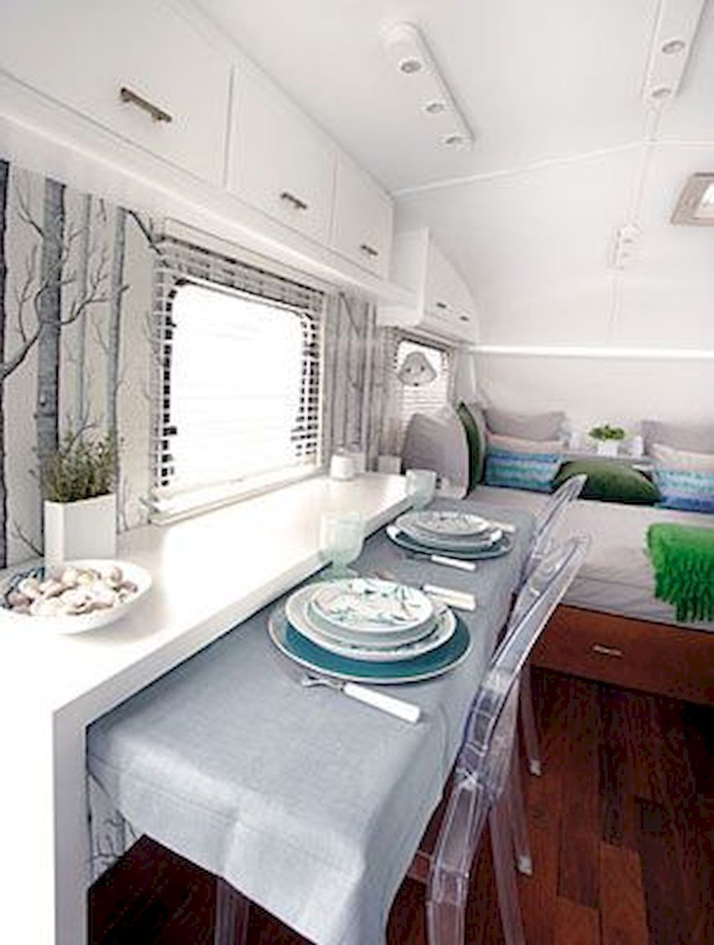 Cool 40 Best RV Living 5th Wheels Interior Remodel Ideas Decoration ...