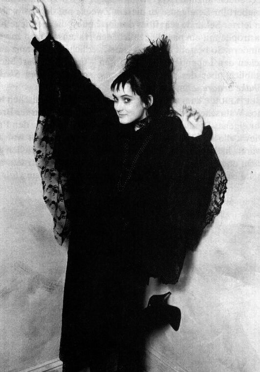 "Winona Ryder as Lydia in ""Beetlejuice"" - I still love the clothes and hairstyle."