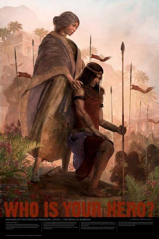 Scripture Hero Mother Of The Stripling Warriors