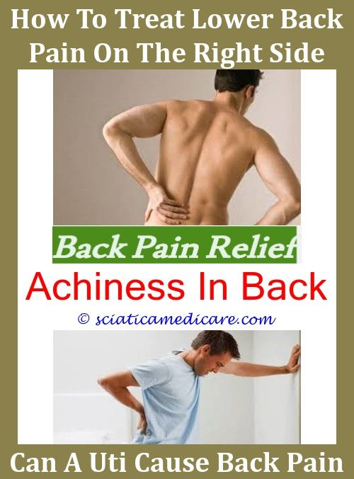 Back Pain Remedies Kidney Infection
