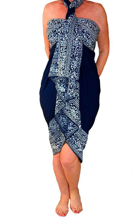 fc2f183fca PLUS SIZE Sarong Batik Pareo Beach Sarong Womens Plus Size Clothing ...