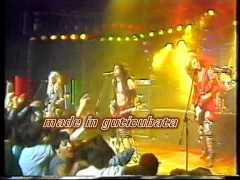 WASP ..Restsless gypsy..(tocata 1986 spain ) And this song too.