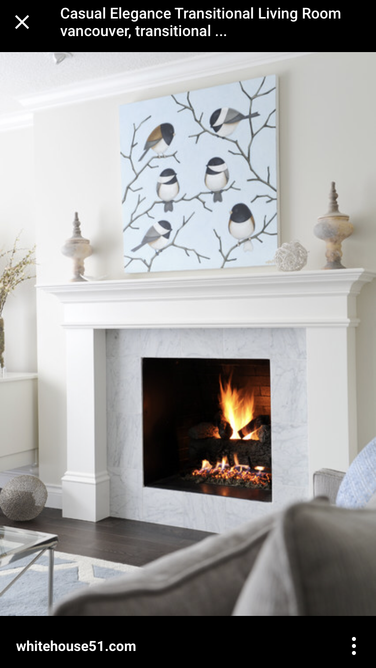 Pin by Clare Kopp on Home design   Transitional fireplaces ...