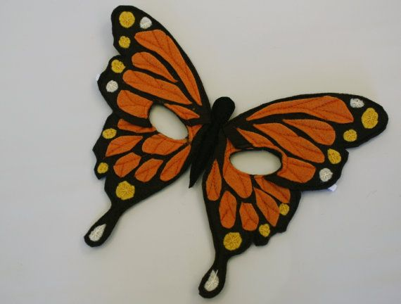 butterfly mask Available at Hunting Faeries on ETSY for $20.00.
