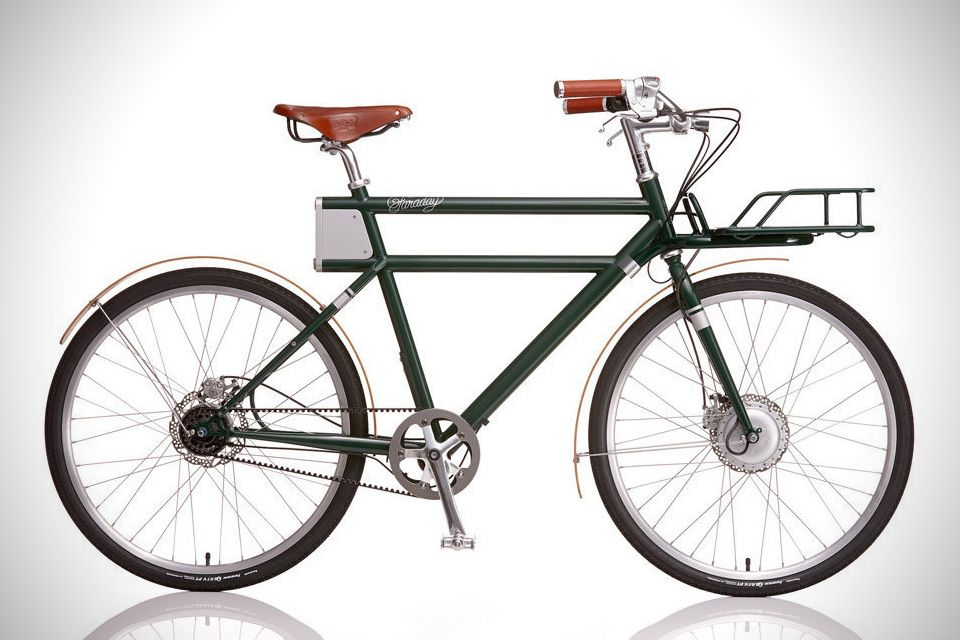 The Faraday Porteur Could Be The Most Gorgeous E Bike Yet Electric Bicycle Electric Bike Bicycle
